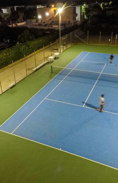 Torre Guaceto Hotel - Gioco Tennis La Notte